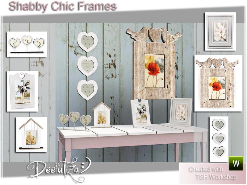 deeiutza\'s Shabby Chic Frames