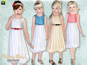 Sims 3 — Wedding Fairy - Set by lillka — This set includes: Wedding Fairy dress with shoes. I hope you like it :)