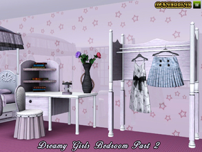 Sims 3 — Dreamy Girls Bedroom Part 2 by Canelline — This is the second part of the set, to complete this romantic bedroom