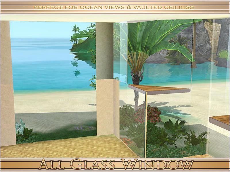 All Glass Windows : Playful s all glass window