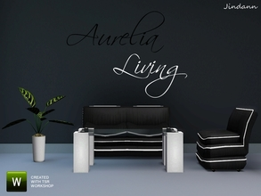 Sims 3 — Aurelia Living Set by Jindann — Modern line, Classic feeling, whatever you got the taste of this set is amazing