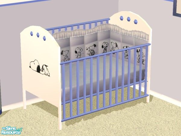 Lym S Snoopy Nursery Set Crib