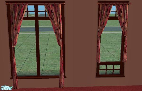 Resa2169's Orange Southwestern Style Curtains
