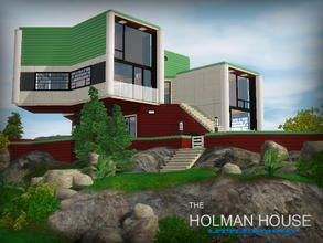 Sims 3 — Little Norway series - Holman House by senemm — *RETURN AFTER 3 YEARS* Part of my Little Norway series, a cozy,