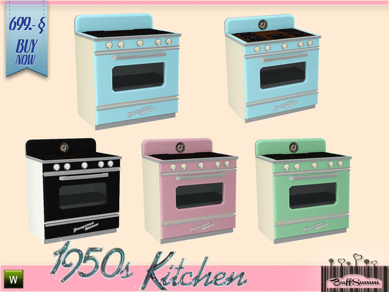 1950s Kitchen Stove