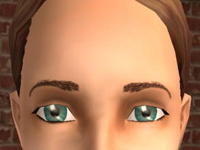 Sims 2 — Arched Meyebrows - Brown by zaligelover2 —