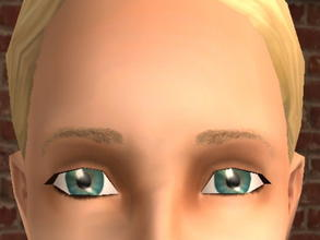 Sims 2 — Arched Meyebrows - Blonde by zaligelover2 —