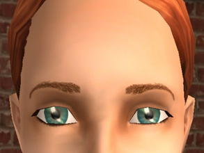 Sims 2 — Arched Meyebrows - Red by zaligelover2 —