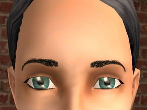 Sims 2 — Arched Meyebrows - Black by zaligelover2 —