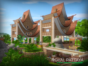 Sims 3 — Far Away series - Royal Pattaya by senemm — Thailand is exotic, no doubt about that... and this resort gives you
