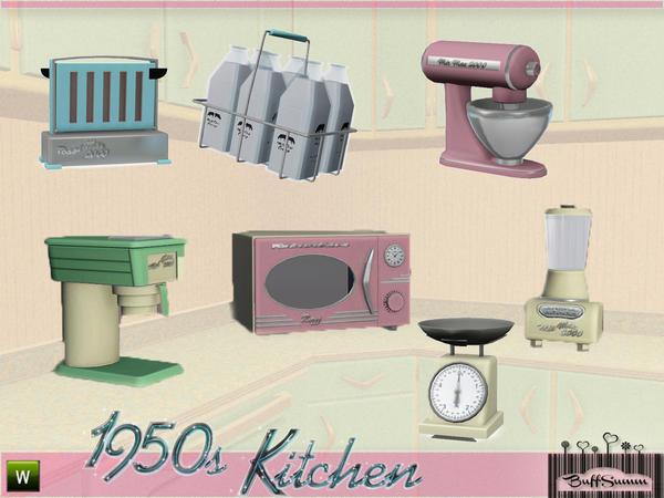 Buffsumm S 1950s Kitchen Part 2
