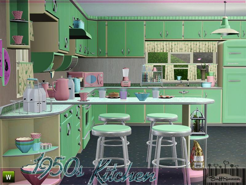 Buffsumm S 1950s Kitchen Part 1