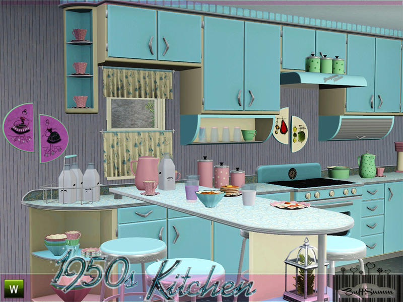 Buffsumm S 1950s Kitchen Part 1
