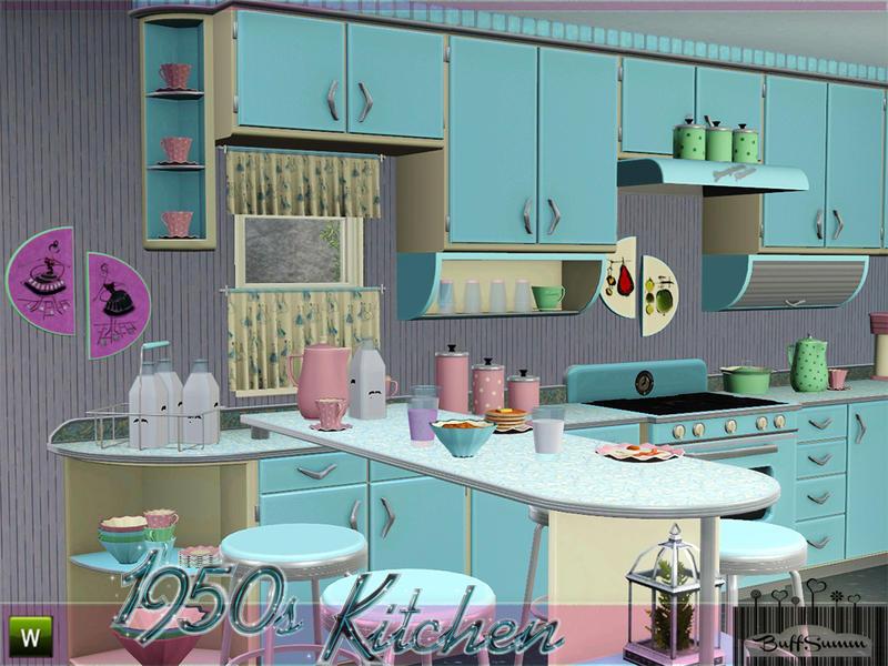 Buffsumm 39 s 1950s kitchen part 1 for 60s kitchen set