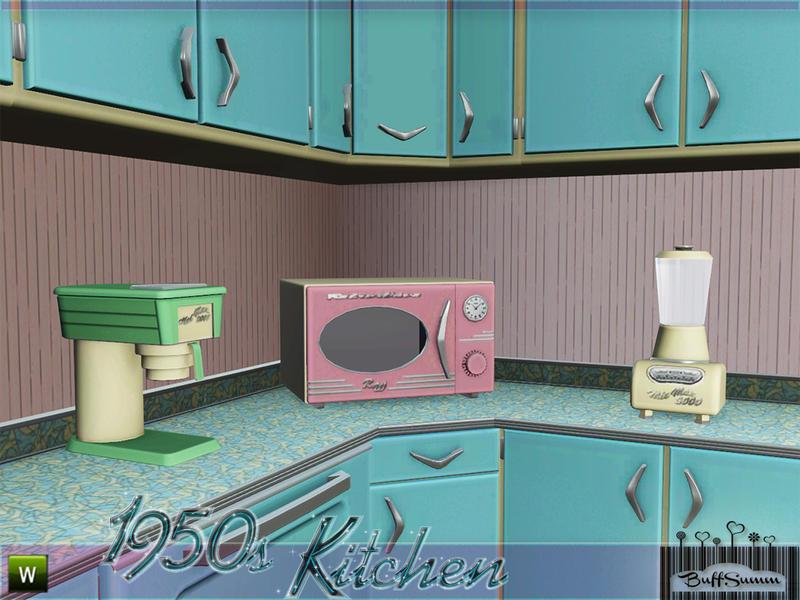 1950s Kitchen buffsumm's 1950s kitchen part 2