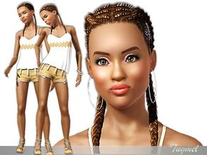 Sims 3 — Adrianna [Young Adult]  by TugmeL — Female ModeL-55 [Young Adult] *No sliders, No Skin, No Hair were used custom