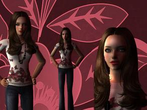 Sims 2 — Eliza by sonalibsaha2 — My sincere thanks to all the creaators whose items I have used to create Eliza. The hair