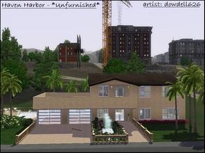 Sims 3 Lots small modern house