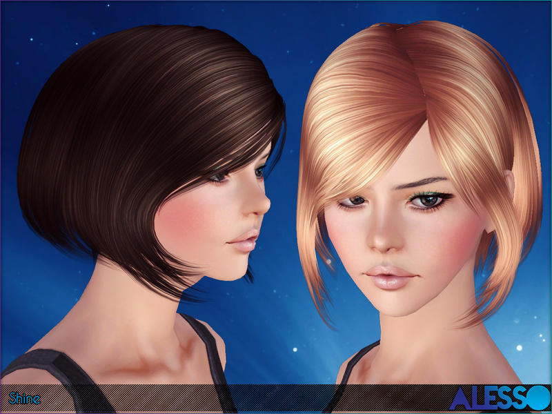 Skysims hair adult 201.