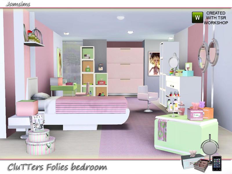 Jomsims Kids Bedroom Clutters Folies