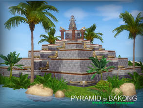 Sims 3 — Far Away series - Pyramid of Bakong by senemm — Ang Kor is known for its fine and ancient architecture, temples,