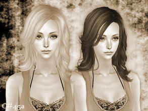 Sims 2 — BtVS Hairstyle - Mesh by Cazy — Female hairstyle for young adult~elder