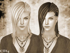 Sims 2 — Mystical Hairstyle - Mesh by Cazy — Hairstyle for male young adult~elder