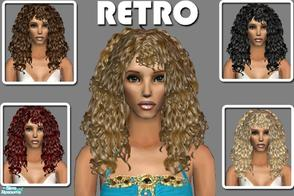 Retro 50s To 80s Sims 2 Hair Sets