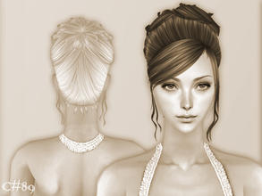 Sims 2 — My Will Hairstyle - Mesh by Cazy — Hairstyle for female, young adult~elder
