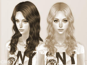Sims 2 — Ordinary Day Hairstyle - Mesh by Cazy — Female hairstyle for young adult~elder