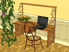 Sims 2 — Arcadia Desk Recolor Set - Meesha-s2l-da-lightwood by zaligelover2 — 12 recolors of Sims2Luxe\'s Arcadia Desk.