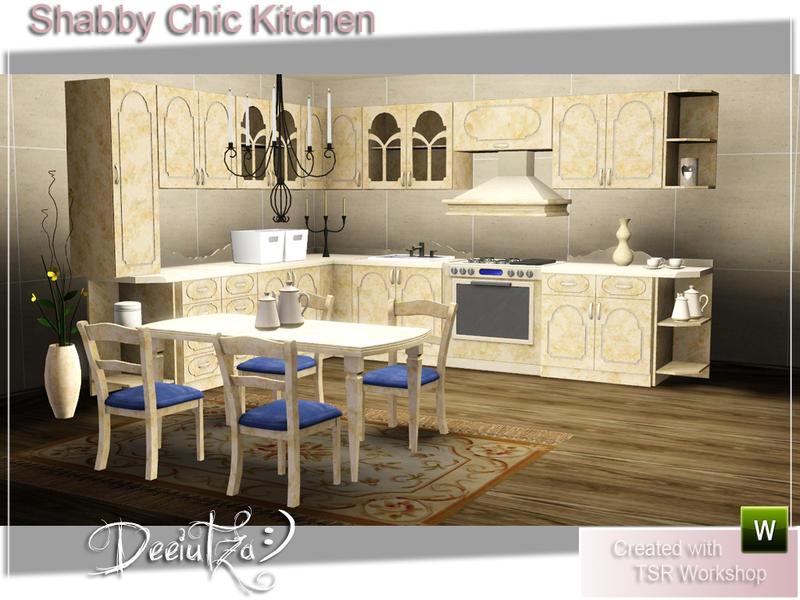 Deeiutza S Shabby Chic Kitchen
