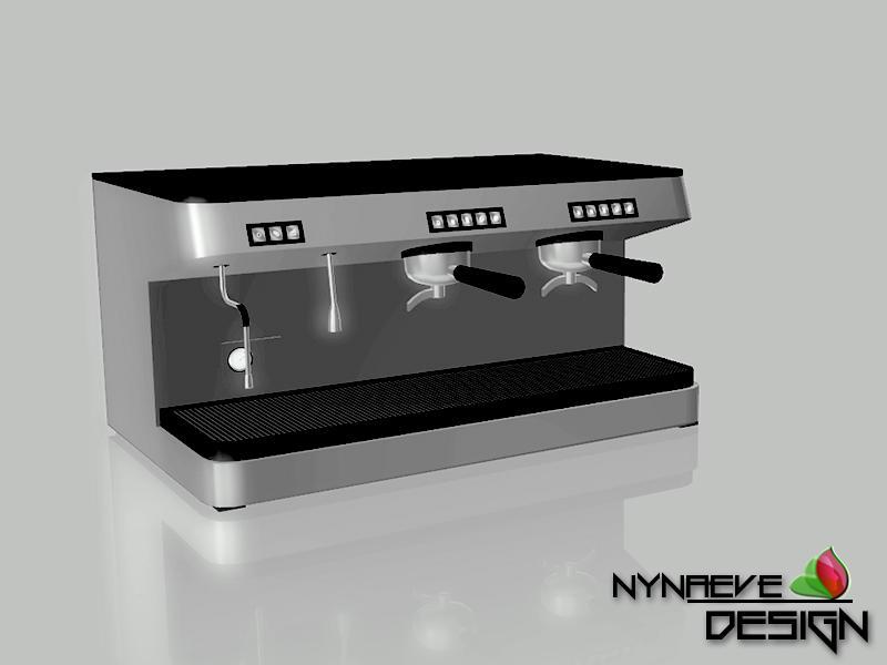 Nynaevedesign S Barista Espresso Machine