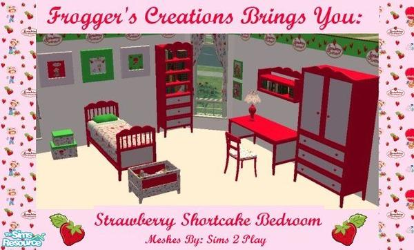Frogger1617's Strawberry Shortcake Bedroom