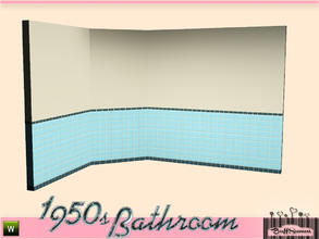 Sims 3 — 1950s Bathroom Tiles A by BuffSumm — Part of the *1950s Bathroom* ***TSRAA***