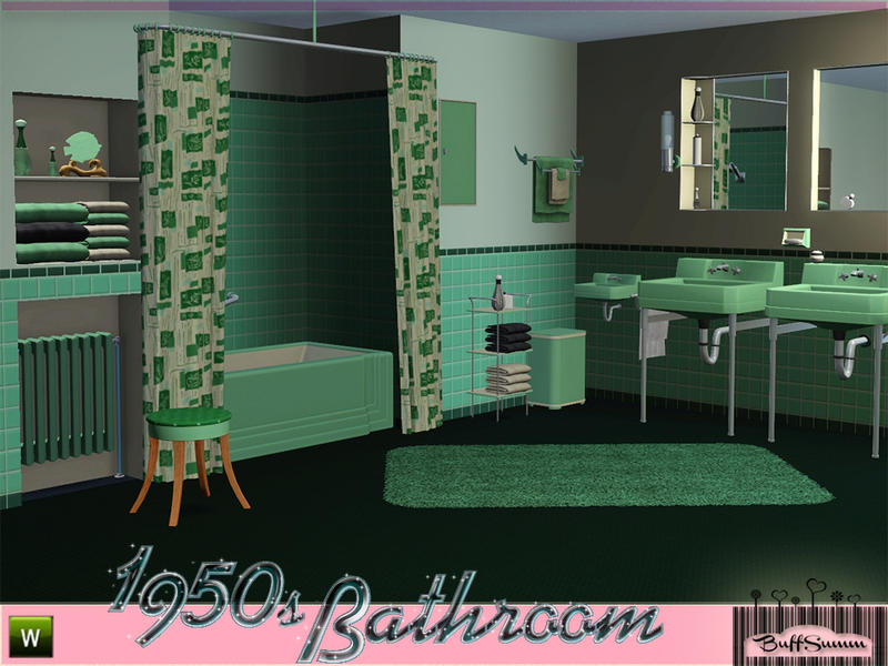 BuffSumm\'s 1950s Bathroom Part 1
