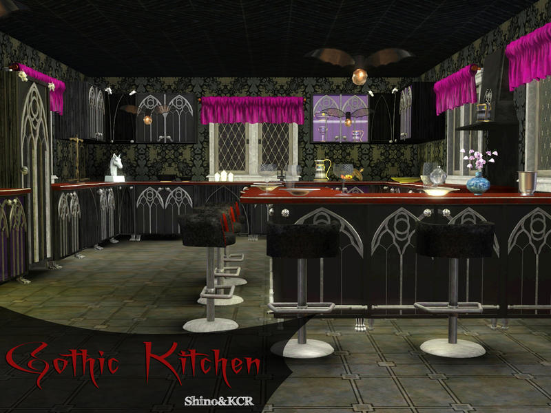 & ShinoKCR\u0027s Gothic Kitchen