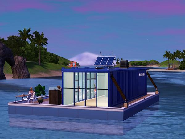 Timi72 S Shipping Container Houseboat