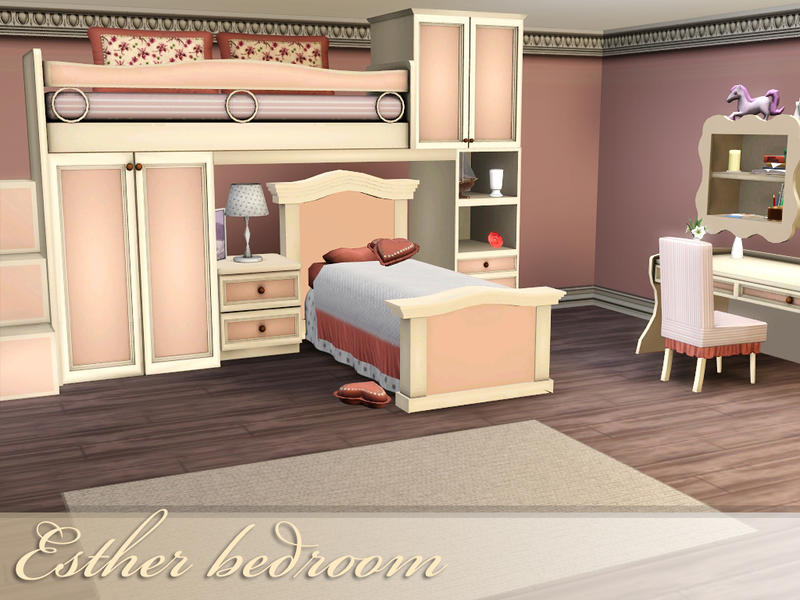 . spacesims  Esther bedroom