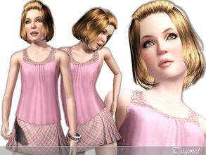 Sims 3 — Yvette [Teen] by TugmeL — Cheerful and sociable this teenager is beautifully made for you to enjoy. *No Sliders