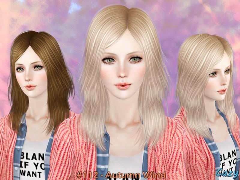 Cazys Autumn Wind Hairstyle Set