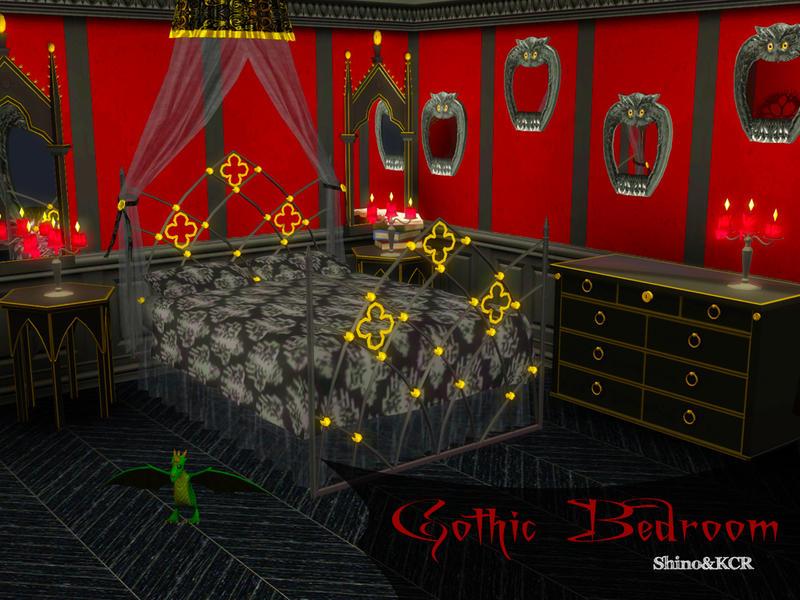 ShinoKCRs Gothic Bedroom