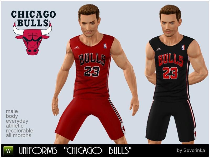 Severinka  s Basketball uniforms Chicago Bulls 3e59ba9f06f