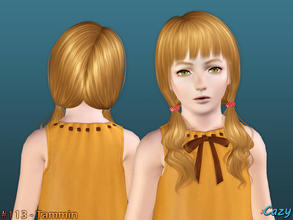 Sims 3 — Tammin Hairstyle - Child by Cazy — Hairstyle for female, child All LODs Included