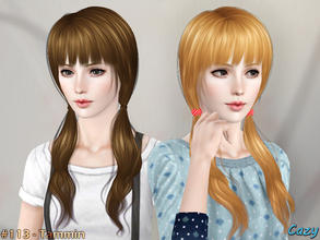 Sims 3 — Tammin Hairstyle - Adult by Cazy — Hairstyle for female, teen through elder All LODs Included