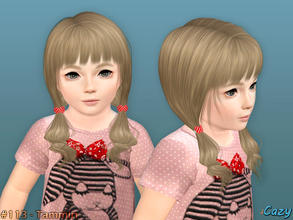 Sims 3 — Tammin Hairstyle - Toddler by Cazy — Hairstyle for female, toddler All LODs Included