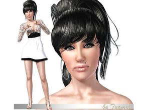 Sims 3 — Amy Winehouse [Young Adult]  by TugmeL — Female Young Adult-34 *Please find below (Additional Notes) the list of