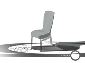 Sims 2 — Project 2012 Hadron Dining - Dining Chair by Emma_O — dining chair for Project 2012 Hadron. comes in slate grey,