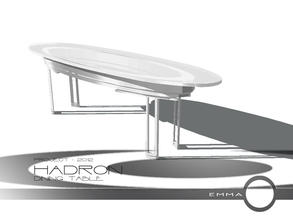 Sims 2 — Project 2012 Hadron Dining - Dining Table by Emma_O — dining table for Project 2012 Hadron.