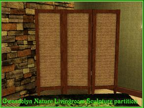 Sims 3 — Gwendolyn_Nature Livingroom_Sculpture partition by Gvendolin2 — This Sculpture partition is from a set of